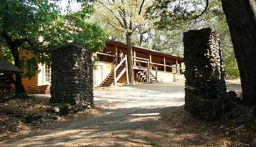 Main Lodge and Front Gates